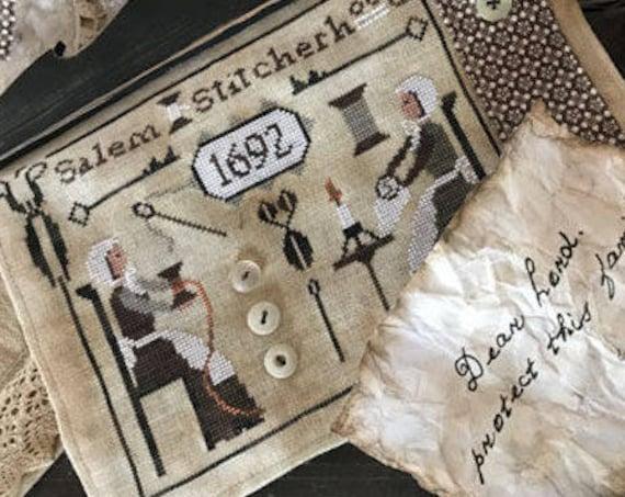 Pattern: Salem Stitcherhood - by Primitive Hare