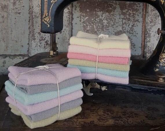 Wool Bundle: Pastel 6pc Mini Sampler- Bunny Hill Wools for Moda