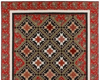 Pattern: Old City Gates Quilt Pattern by Red Crinoline Quilts