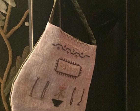 Handmade Finished Ditty Bag: Ruthys Sampler Pocket
