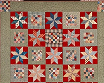 """Pattern: """"Porch Quilt"""" Pattern - Timeless Traditions by Norma Whaley"""