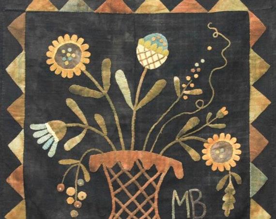"Pattern:  ""WIldflowers of Summer"" by Maggie Bonanomi"