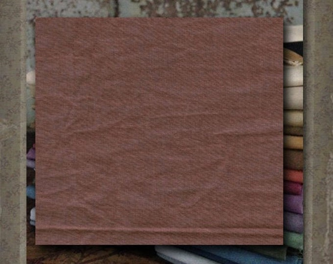 "Aged Muslin: ""Sienna"" (new over-dyed cloth) - Color #7691-0113 Marcus Fabrics"