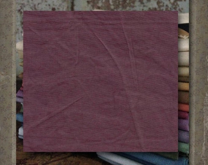 "Aged Muslin: ""Faded Purple"" (new over-dyed cloth) - Color #7023-0127 Marcus Fabrics"
