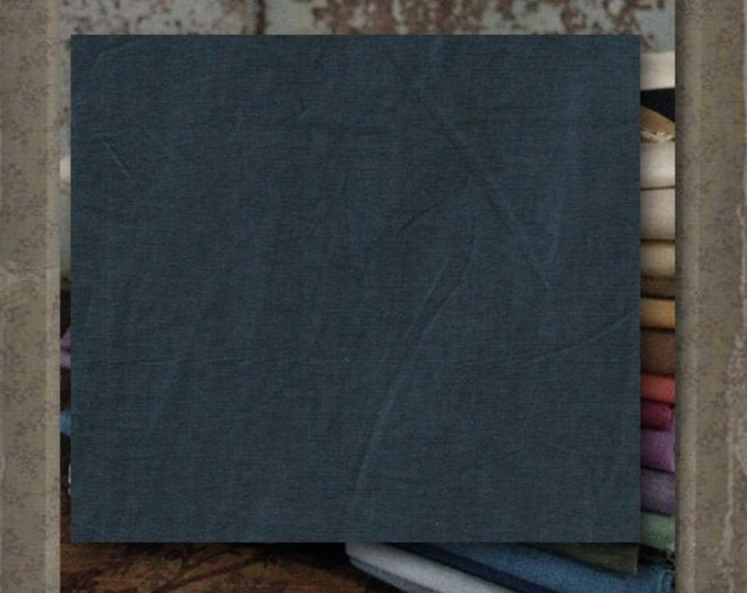"""Aged Muslin: """"Ink"""" (new over-dyed cloth) - Color #9667 Marcus Fabrics"""