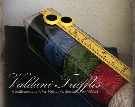 "Valdani Thread: Gift Set/5 Perle Cotton Embroidery Thread Balls - ""Schoolhouse Rock"" Collection"
