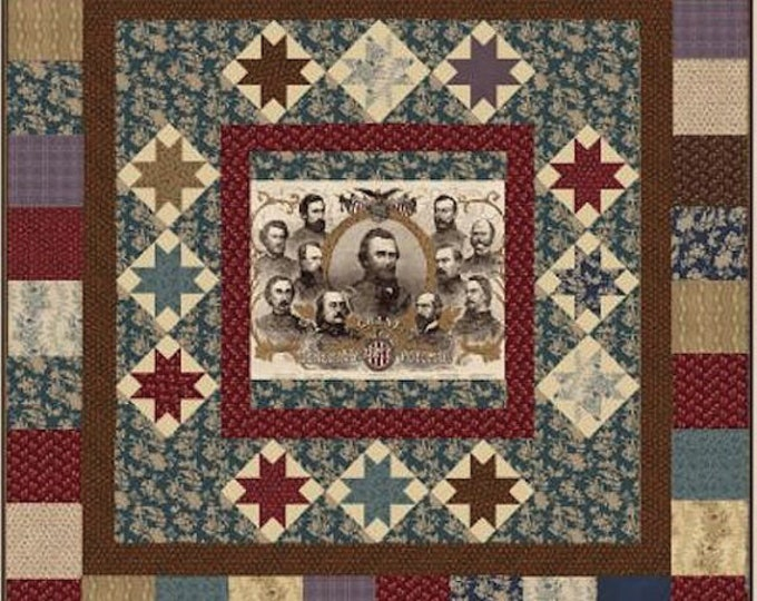 "Quilt Kit and Pattern - ""The Generals"" by Karen Witt"
