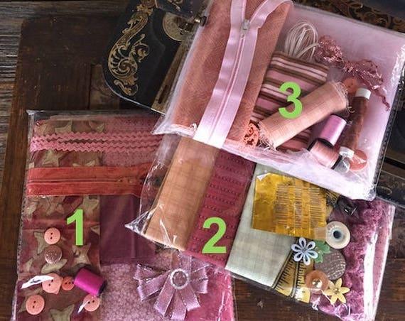 Scraps n Notions - Pinks
