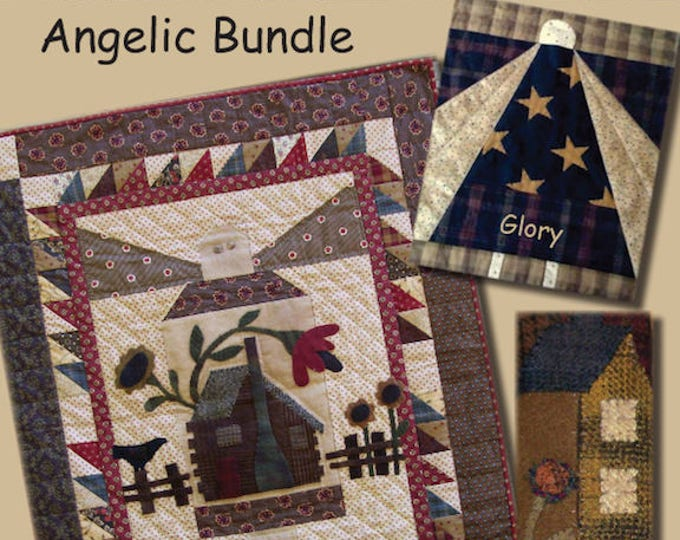 Pattern: Angelic Bundle Quilt Pattern by Primitive Pieces by Lynda