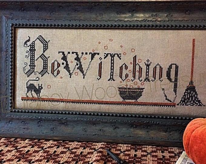 "Pattern: Cross Stitch ""Somethings Brewing"" - Dulaney Woods Treasures"