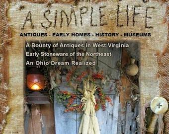 Magazine: 2016 Fall - A Simple Life Magazine - Back Issue
