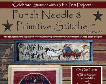 Magazine: 2017 Summer Back Issue - Punch Needle & Primitive Stitcher