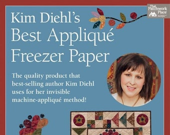Notions: Kim Diehl's Best Appliqué Freezer Paper - 30 Sheets