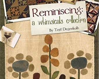 Pattern Book: Reminiscing a Whimsicals Collection by Terri Degenkolb for Whimsicals.