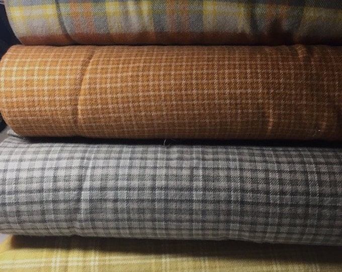 Fabric: Autumn Flannel Yardage - Primo Plaid Flannel line by Marcus Fabrics