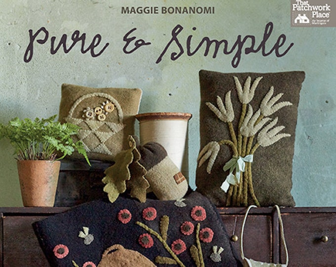 "Pattern Book: ""Pure and Simple"" Book By Maggi Bonanomi"