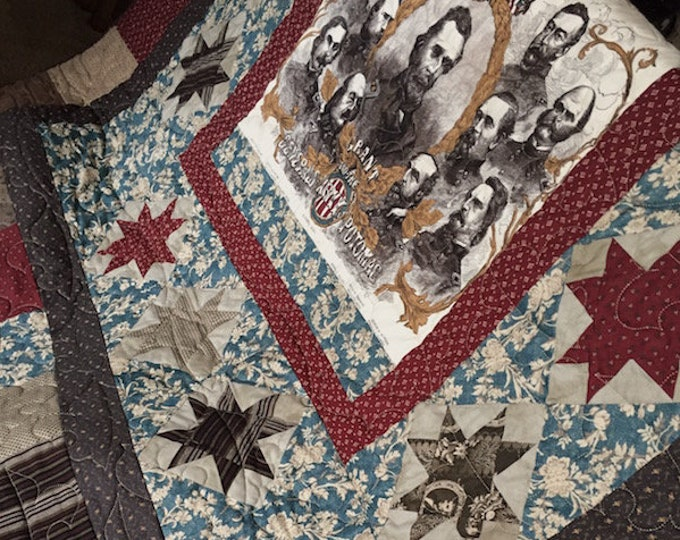 "Quilt Finished - ""The Generals"" by Karen Witt"