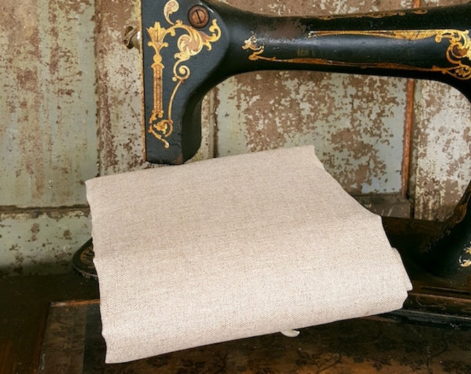 Linen: Natural 35 ct  1 YARD - by Norden Crafts