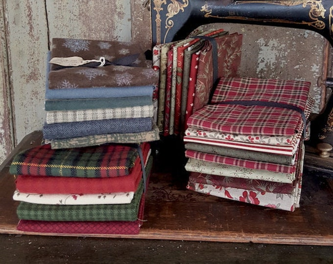 Fabric: Bundle FQ - Winter and Christmas Collections