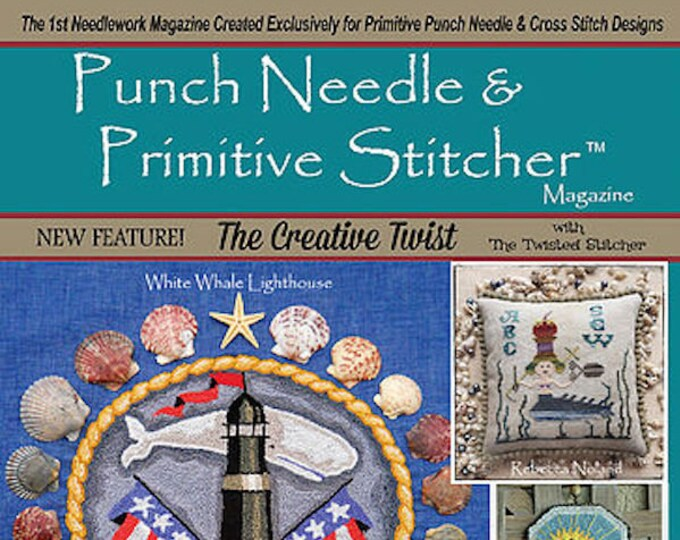 Magazine: Summer 2018 - Punch Needle & Primitive Stitcher