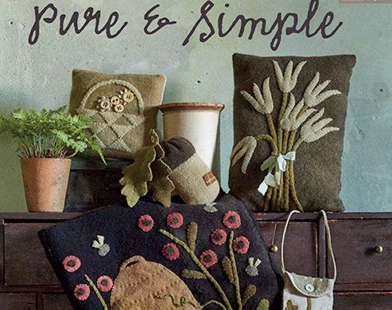 """Pattern Book: """"Pure and Simple"""" Book By Maggi Bonanomi"""