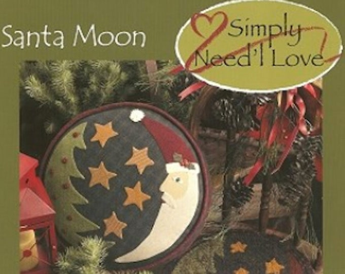 Pattern Booklet: Santa Moon by Becky Menges for Need'l Love Designs
