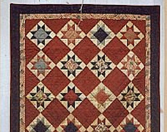 Quilt Kit and Pattern: Freedom Star Quilt by Country Threads