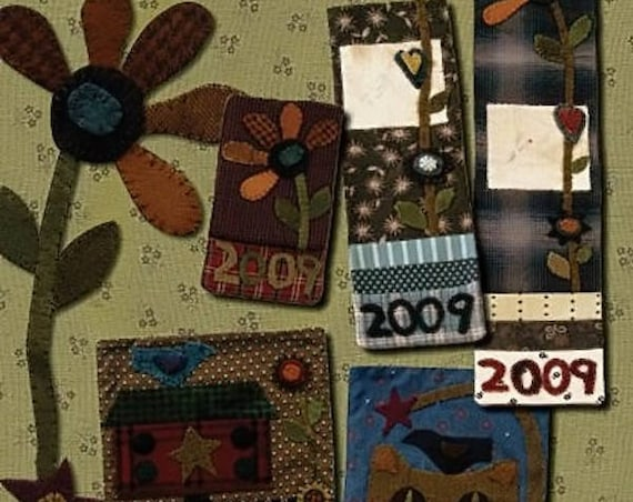 Pattern: Necessary Bundle Quilt Pattern by Primitive Pieces by Lynda