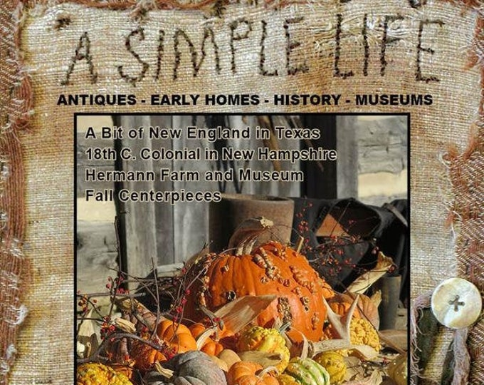 Magazine: 2019 Fall issue - A Simple Life
