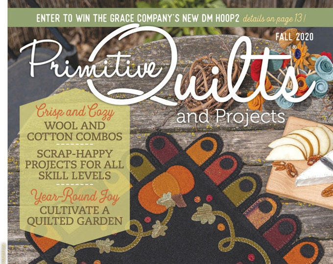 Magazine:2020 FALL Primitive Quilts and Projects