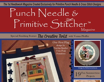 Magazine: Summer 2019 - Punch Needle & Primitive Stitcher