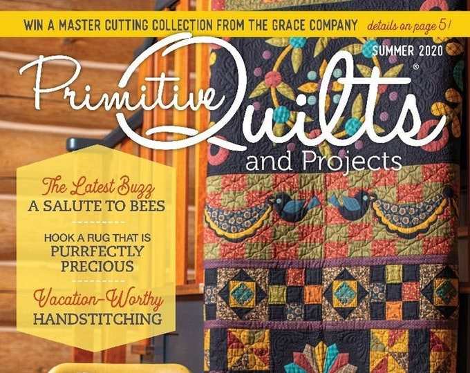 Magazine: New! Summer 2020  Primitive Quilts and Projects