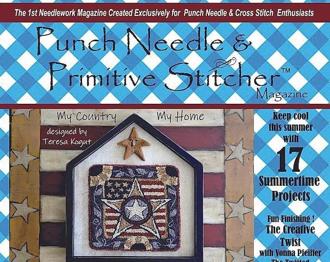 Magazine: 2020 Summer - Punch Needle & Primitive Stitcher