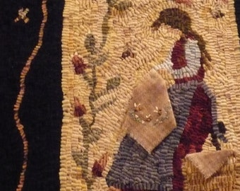 "Pattern: Rug Hooking Pattern ""Fancy Needlework"" by Yvonne Buus"