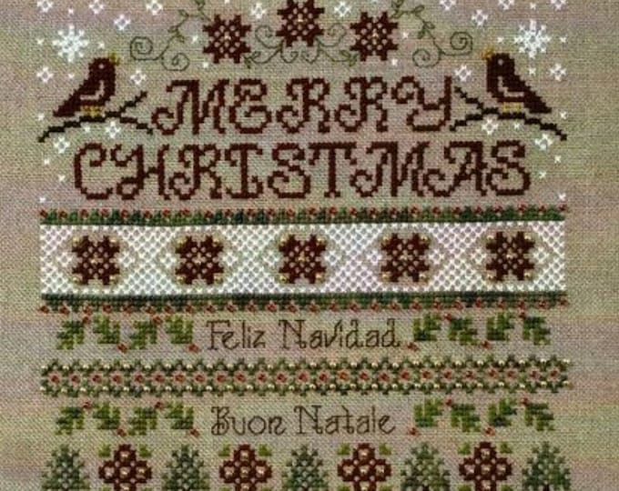 Pattern: Christmas Around the World Cross Stitch Pattern -  by Stoney Creek
