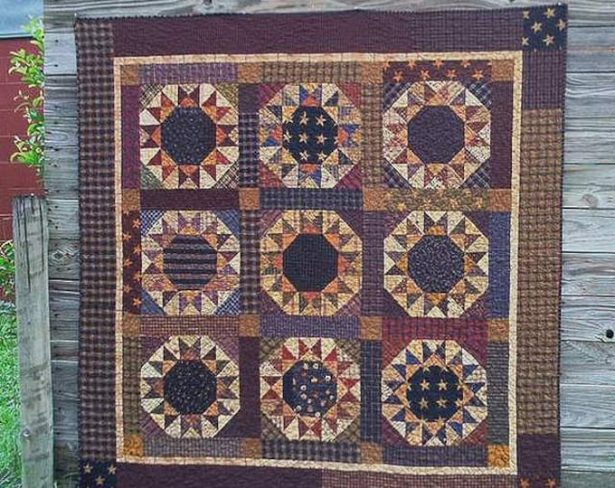 Pattern: Remember Them Quilt Pattern by Primitive Pieces by Lynda