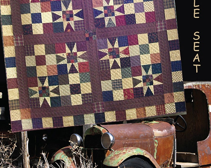 Pattern: Rumble Seat Quilt Pattern by Primitive Pieces by Lynda