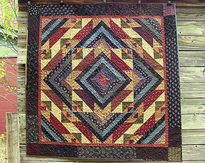Pattern: Grampas Saw Mill Quilt Pattern by Primitive Pieces by Lynda