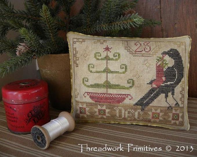 Pattern: Beggars Christmas Cross Stitch by Threadwork Primitives