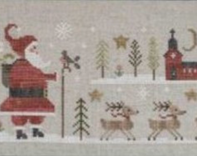 "Pattern: Cross Stitch ""Santa Claus"" by Collection Tralala"