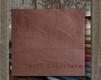 Fabric 1 YARD: Aged Muslin Cloth (New) -MILK CHOCOLATE 113 Marcus Fabrics