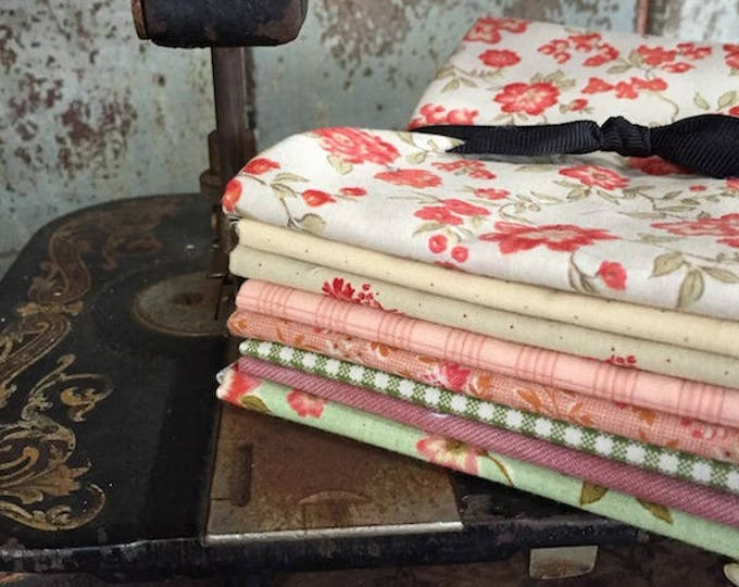 Fabric: Bundle FQ 8pc - Floral Collection