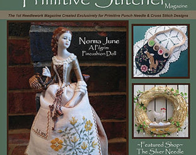 Magazine: 2016 Spring Back Issue -  Punch Needle and Primitive Stitcher