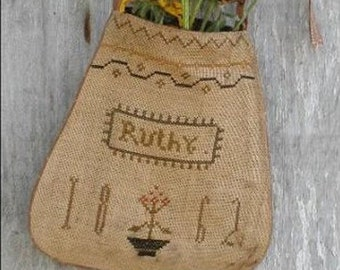 Pattern: Ruthys Sampler Pocket Cross Stitch created by Notforgotten Farm