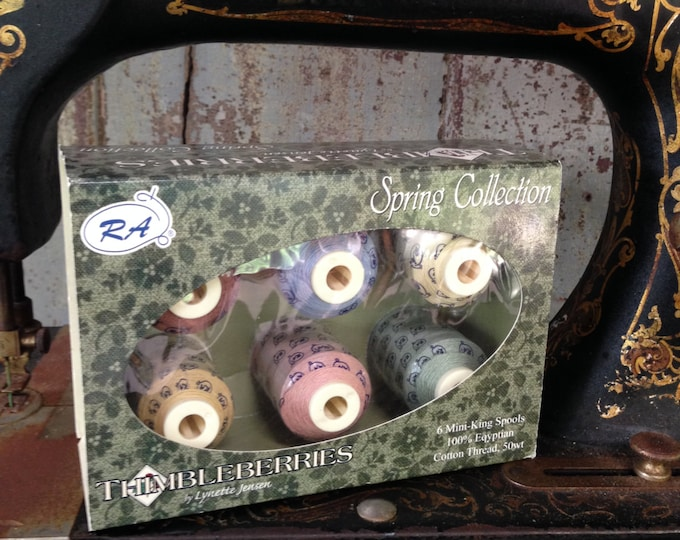 Threads: Spring Spool Thread Collection - Thimbleberries by Lynn Jensen