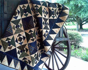 Pattern: Aunt Maggies Dancin Shoes Quilt Pattern by Primitive Pieces by Lynda