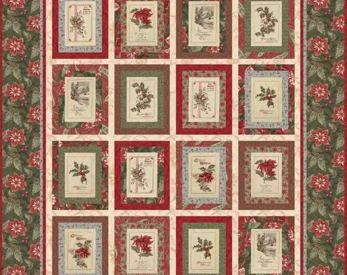 Pattern: Sentiments Quilt by 3 Sisters for Moda Fabrics