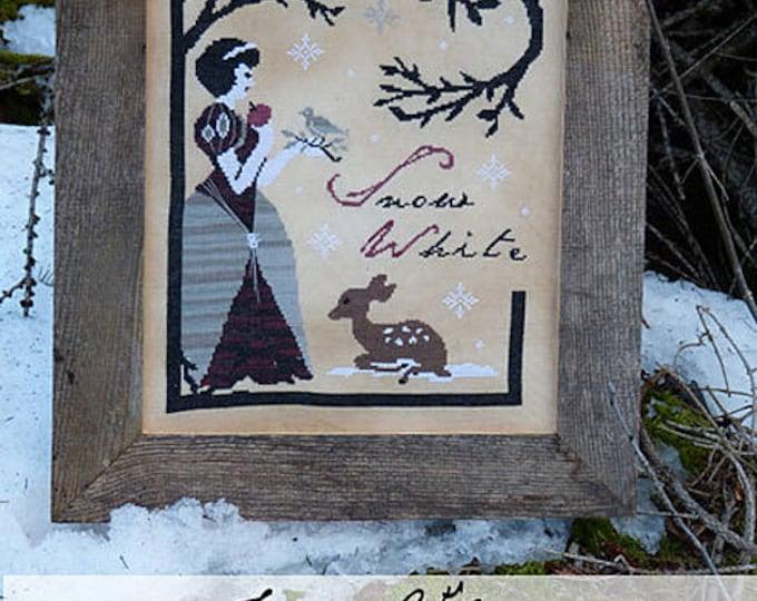Pattern: Snow White Cross Stitch - The Primitive Hare