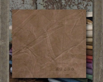 Fabric 1 YARD: Aged Muslin Cloth (New) - Mocha 3614 Marcus Fabrics