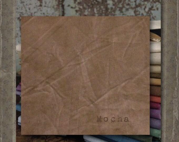 Fabric 1 YARD: Aged Muslin Cloth (New) - Mocha 3614 Marcus Fabrics
